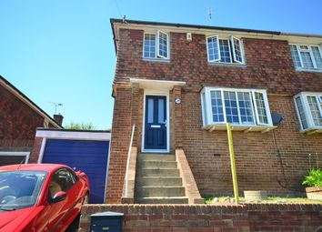 Thumbnail 3 bed semi-detached house to rent in Drakes Avenue, Strood, Rochester