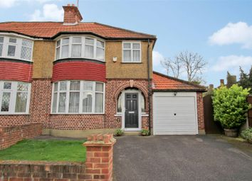 Thumbnail 3 bed semi-detached house for sale in The Crossway, Hillingdon Village