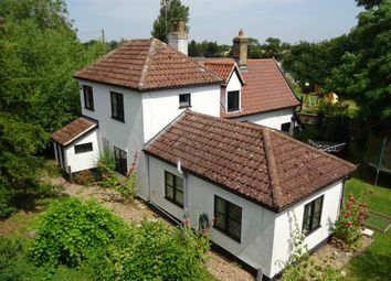 Thumbnail 4 bed detached house for sale in Main Road, Hemingstone, Ipswich