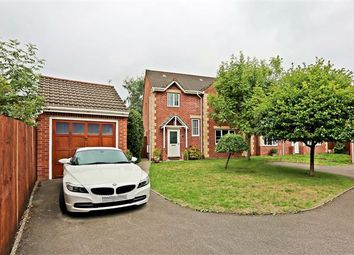 Thumbnail 4 bed detached house for sale in Lon Y Cadno, Church Village, Pontypridd