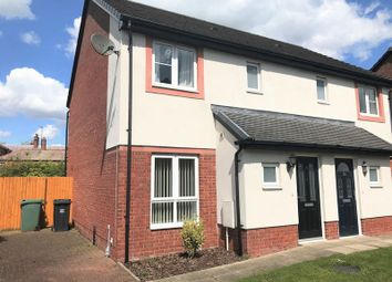 Thumbnail 3 bed semi-detached house to rent in Sycamore Drive, Longtown, Carlisle