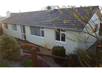Thumbnail 4 bed detached bungalow for sale in Langore, Launceston