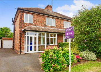 Thumbnail 3 bed semi-detached house for sale in Valley Road, Loughborough