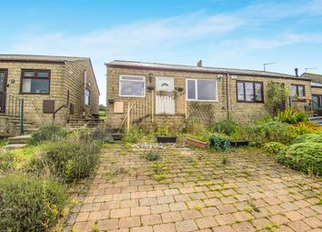 Thumbnail 1 bed bungalow for sale in Longfield Rise, Todmorden