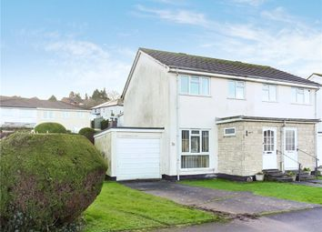 Thumbnail 3 bed semi-detached house for sale in Willhayes Park, Axminster, Devon