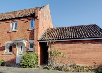 Thumbnail 2 bedroom end terrace house for sale in Marauder Road, Old Catton, Norwich