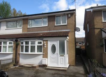Thumbnail 3 bedroom semi-detached house to rent in Nangreave Road, Stockport