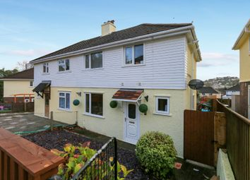 Thumbnail 3 bed semi-detached house for sale in Neville Road, Newton Abbot