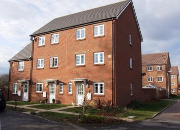 Thumbnail 3 bed town house to rent in Jersey Drive, Winnersh