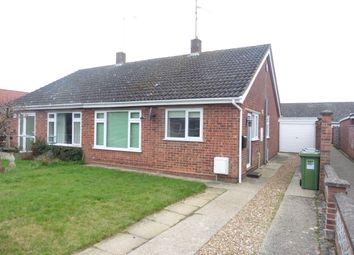 Thumbnail 2 bedroom semi-detached bungalow to rent in North Park, Fakenham