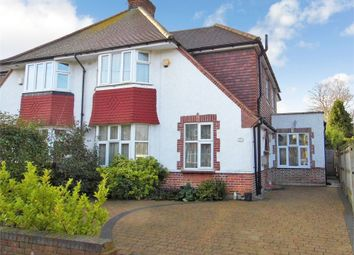 Thumbnail 4 bedroom semi-detached house to rent in Hill Road, Pinner, Middlesex