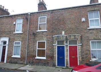 Thumbnail 2 bedroom terraced house to rent in Warwick Street, York