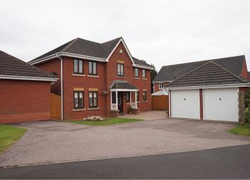 Thumbnail 4 bed detached house for sale in Sister Dora Avenue, Burntwood