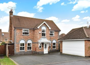 Thumbnail 4 bed detached house for sale in Lower Canes, Yateley, Hampshire