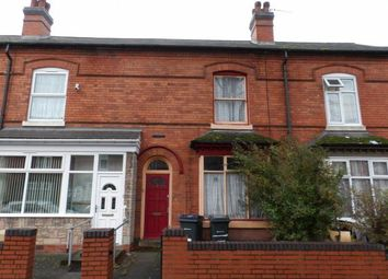 Thumbnail 3 bedroom terraced house for sale in Cannon Hill Road, Balsall Heath, Birmingham, West Midlands