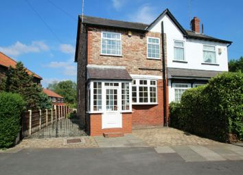 Thumbnail 2 bed semi-detached house for sale in Eaton Road, Bowdon, Altrincham