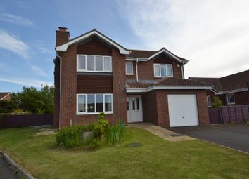 Thumbnail 4 bed detached house for sale in Castle Close, Seahouses