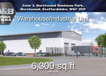 Thumbnail Light industrial for sale in Zone 3 - Burntwood Business Park Burntwood, Staffordshire