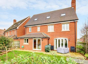 Thumbnail 5 bed detached house to rent in Orchard End, Chieveley, Newbury