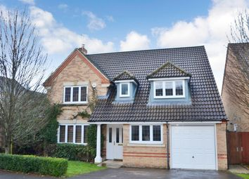 Thumbnail 4 bed detached house for sale in Kersten Close, Newbury