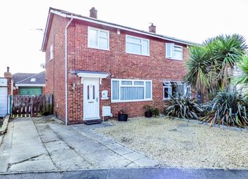 Thumbnail 3 bed semi-detached house for sale in Pollards Close, Wilstead, Bedford