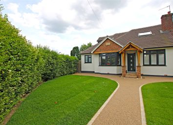 Thumbnail 4 bed semi-detached bungalow for sale in New Haw, Addlestone, Surrey