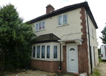 Thumbnail 3 bed semi-detached house for sale in Cranmer Road, Cowley, Oxford