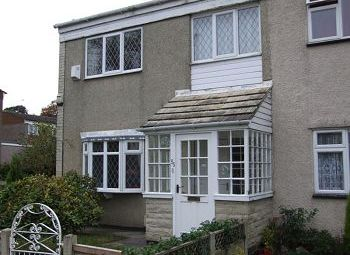 Thumbnail 3 bed end terrace house to rent in Kennedy Avenue, Macclesfield, Cheshire