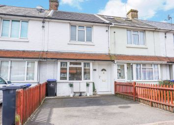 Thumbnail 2 bed terraced house for sale in Leigh Road, Worthing