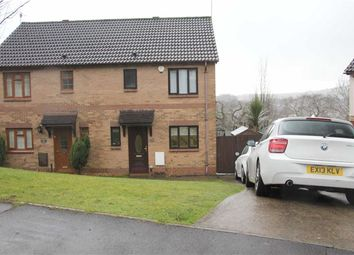 Thumbnail 3 bed semi-detached house for sale in Heol Ysgubor, Caerphilly