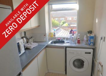 Thumbnail 1 bed flat to rent in Blaby Road, Wigston