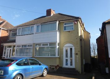 Thumbnail 3 bedroom property to rent in Perry Wood Road, Great Barr, Birmingham