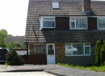 Thumbnail 3 bed semi-detached house to rent in Freemans Close, Seasalter, Whitstable