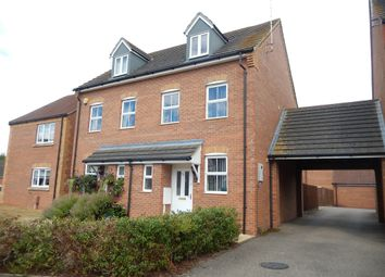 Thumbnail 3 bed semi-detached house for sale in Hay Barn Road, Deeping St. Nicholas, Spalding