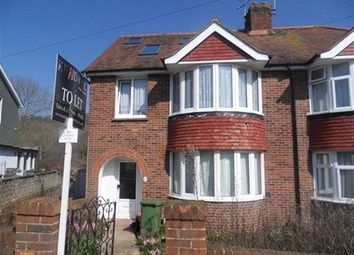 Thumbnail 6 bed shared accommodation to rent in Rushlake Road, Brighton
