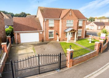 Thumbnail 4 bed detached house for sale in Hansard Way, Kirton, Boston