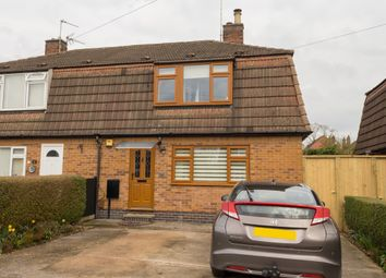Thumbnail 3 bed semi-detached house for sale in Conway Avenue, Borrowash, Derby