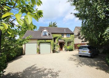 Thumbnail 4 bed detached house for sale in Common Road, North Leigh, Witney