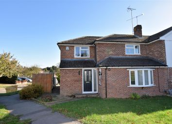 Thumbnail 4 bed semi-detached house for sale in Wandhope Way, Tilehurst, Reading