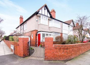 Thumbnail 4 bedroom semi-detached house for sale in Manor Road, Crosby, Liverpool, Merseyside