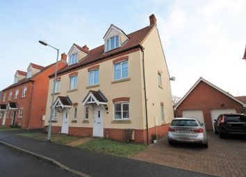 Thumbnail 3 Bed Semi Detached House To Rent In Peregrine Mews Norwich