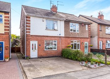 Thumbnail 2 bed semi-detached house for sale in Rutland Avenue, Hinckley