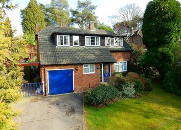 Thumbnail 3 bed detached house for sale in Hillcrest Road, Camberley