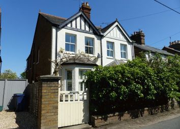 Thumbnail 4 bed semi-detached house for sale in Hedsor Road, Bourne End