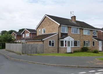 Thumbnail 3 bedroom semi-detached house to rent in Canterbury Close, Wigginton, York