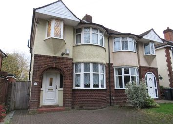 Thumbnail 3 bed semi-detached house to rent in Weoley Avenue, Selly Oak, Birmingham