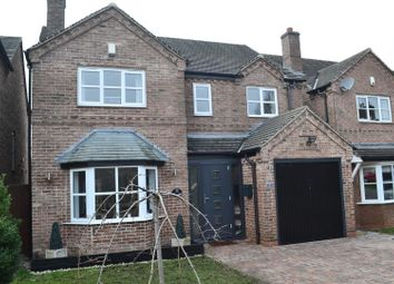 Thumbnail 4 bed detached house for sale in Peters Street, Albert Village, Swadlincote