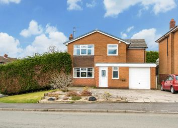 Thumbnail 4 bed detached house for sale in Woodnook Road, Appley Bridge, Wigan