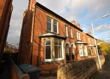 Thumbnail 4 bed semi-detached house to rent in Haddon Road, West Bridgford, Nottingham