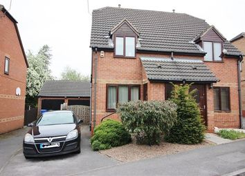 Thumbnail 2 bed semi-detached house for sale in Brockwood Close, Sheffield